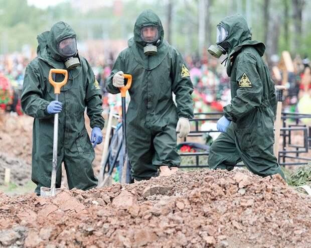 Россия вышла на 3 место в мире по смертям от COVID-19
