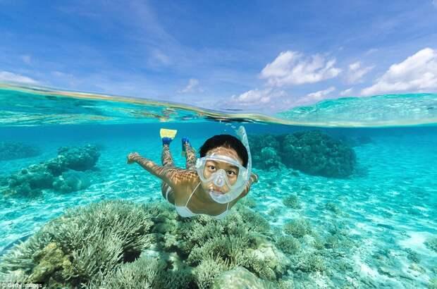 Рай с самой чистой водой в мире