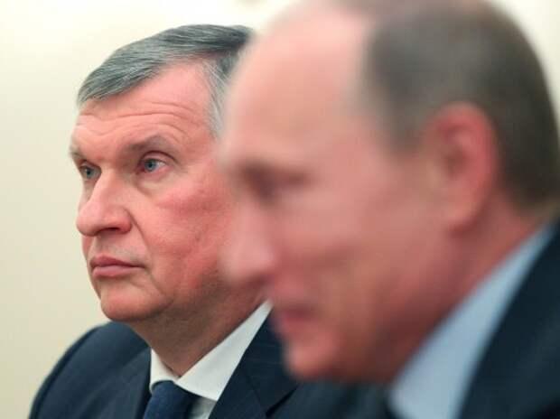 Игорь Сечин предложил президенту отказаться от налогового маневра