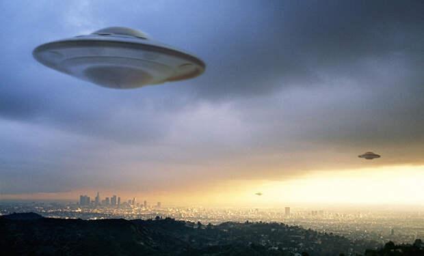 Маскировка кораблей пришельцев вблизи Земли