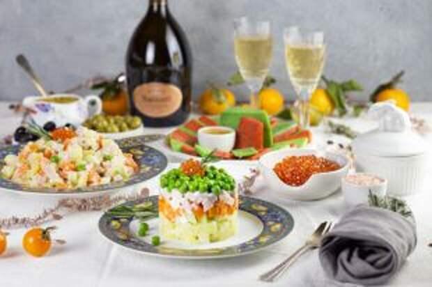 Продукты для Нового года. Во сколько в 2020 обойдется праздничный стол?