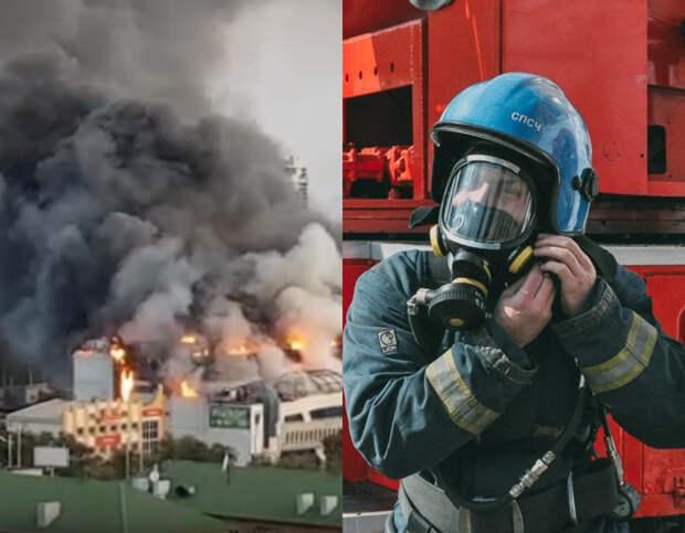 Пожар в торговом центре Владивостока удалось локализовать