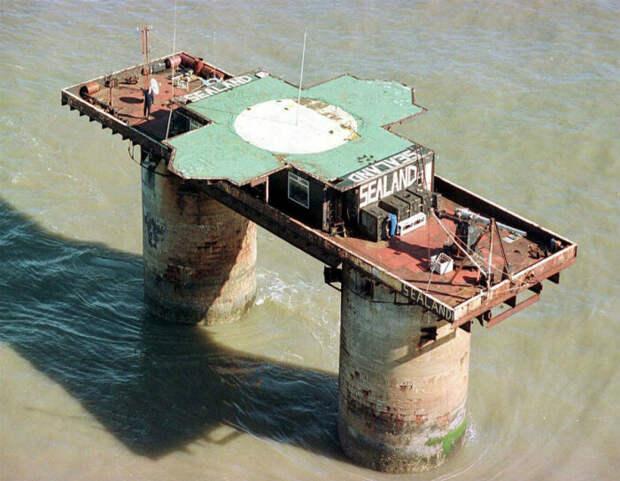 Население независимого государства Силенд составляет один человек / Фото: scrolltoday.com