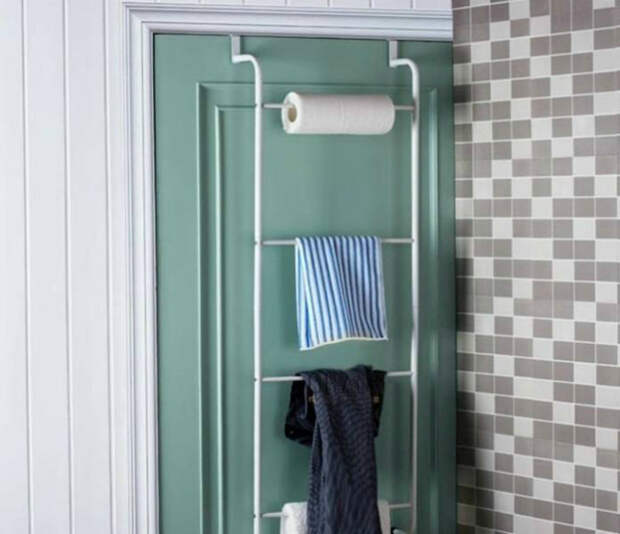 Навесной органайзер. | Фото: Pinterest.