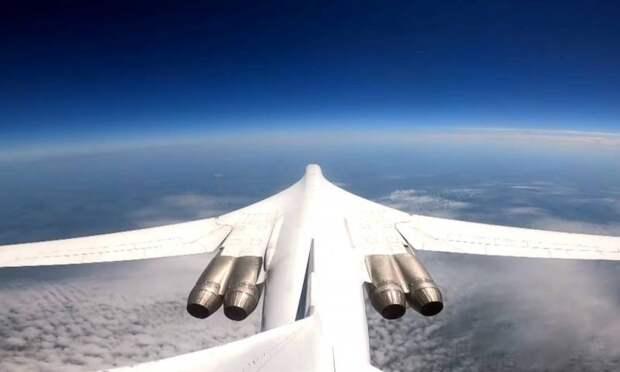Новые двигатели НК-32-02 испытали на модифицированном Ту-160М