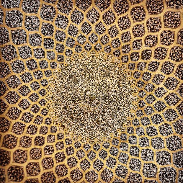 9. Мечеть шейха Лотфоллы в Исфахане, Иран.