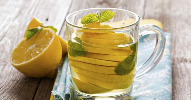Вот что произойдёт с организмом если начать пить горячий лимонный сок