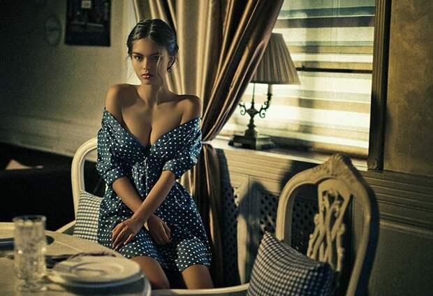 Чувственность в женских портретах Кристины Казариной