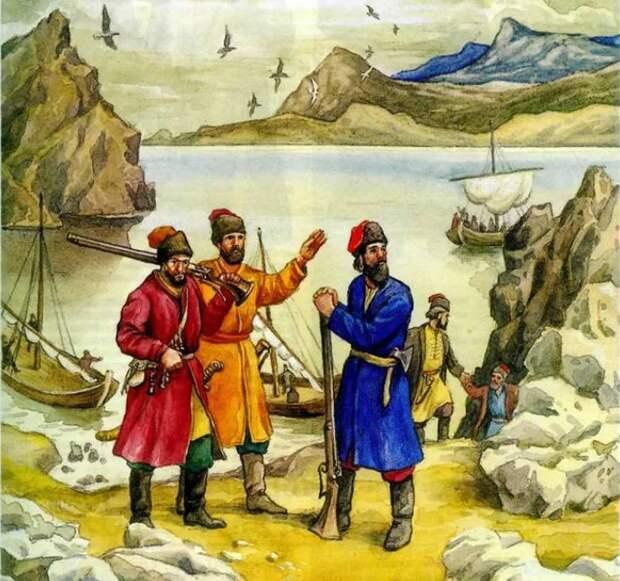 Покорение Чукотки: чукча против казака