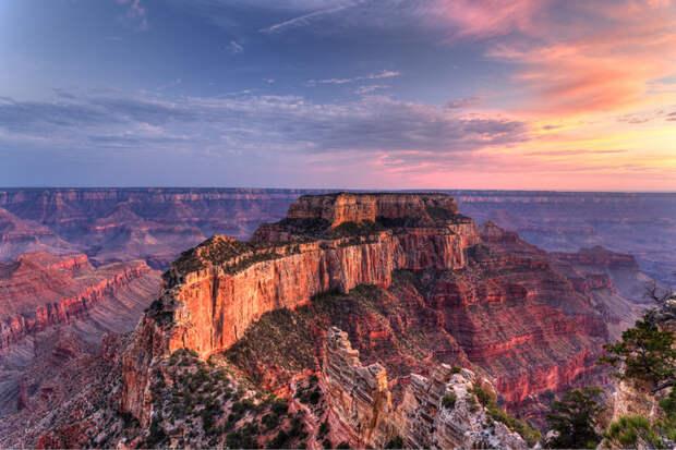 Национальный парк Гранд-Каньон в Аризоне