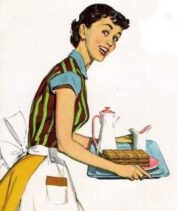 Идеальная жена 1955 года, изображение №1