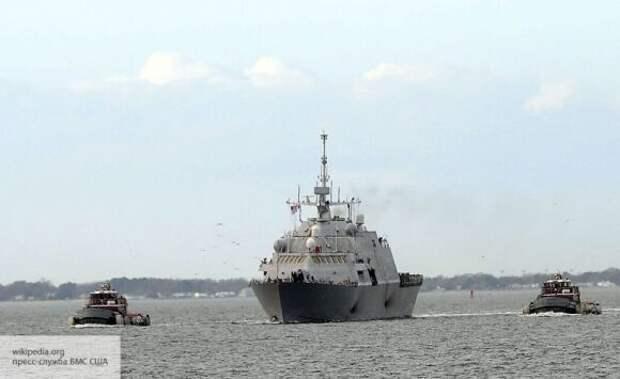 Иностранцы сравнили военный корабль США с персонажем Диснея