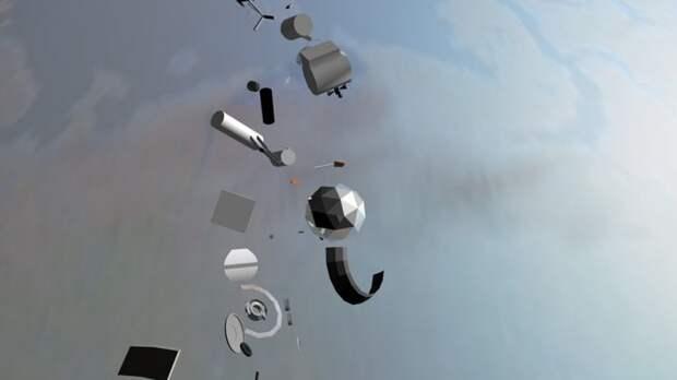 В России могут создать систему прогноза падения космического мусора на Землю