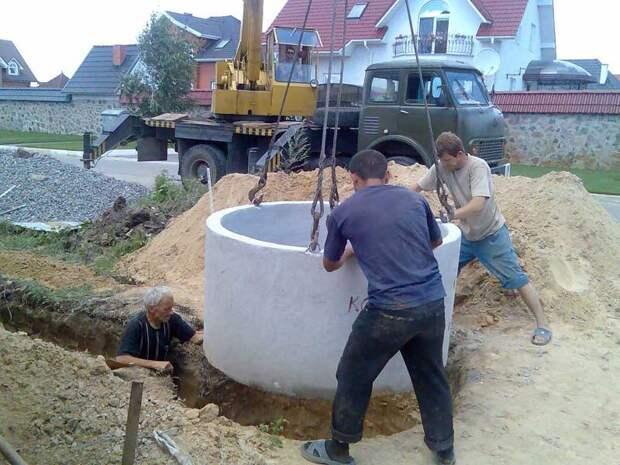 Сооружаем колодец на дачном участке