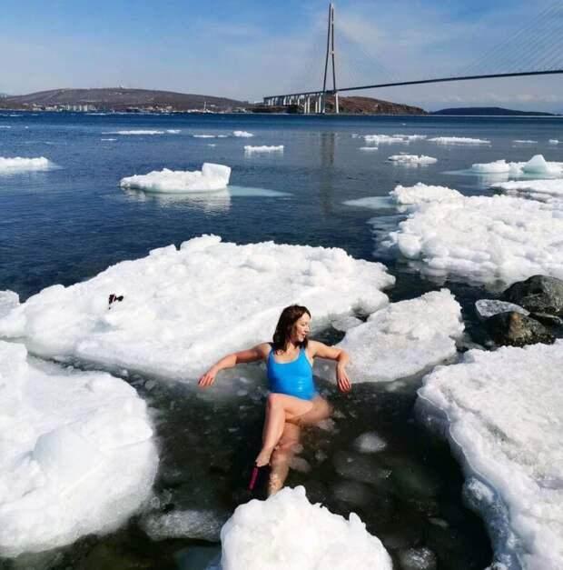 Зимние купальщицы, которым ненужно ждать Крещения