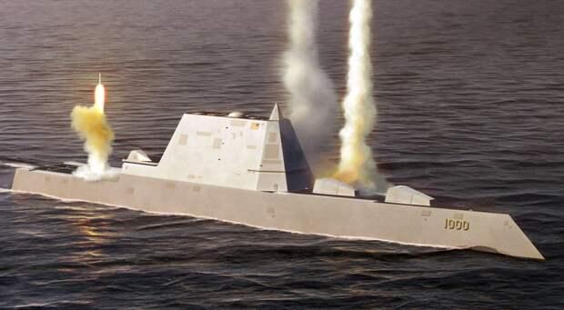 США не смогут догнать Россию с помощью «эсминца будущего» из-за своих амбиций