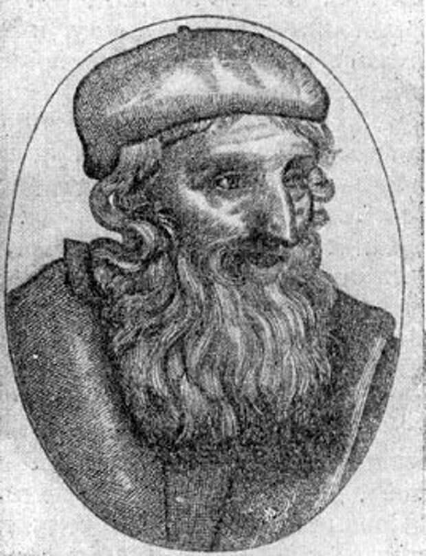 Джон Виклеф. Портрет XVI в.