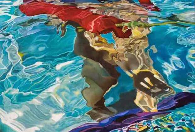 Испанский художник. Josep Moncada Juaneda