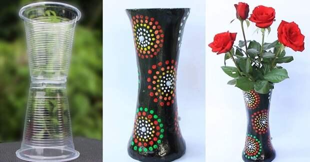 Соедините пластиковые стаканчики и штукатурку для красивого интерьерного решения