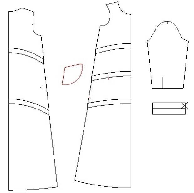 Выкройки  стильных сарафанов и платья