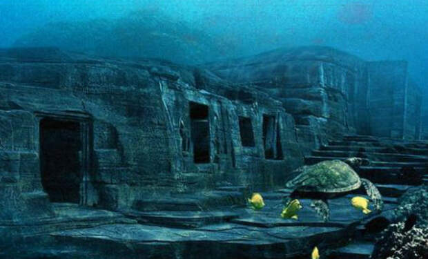Ученые нашли древнюю дорогу на дне океана