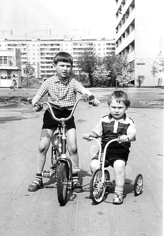 Велобратья СССР, детство, фотографии