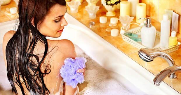 Почему женщинам нестоит принимать ванну спеной