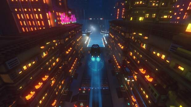 Трейлер Cloudpunk — истории о курьере на летающей машине в мире киберпанка