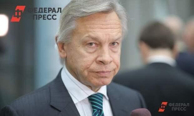 Пушков назвал истеричной реакцию США на возрождение России