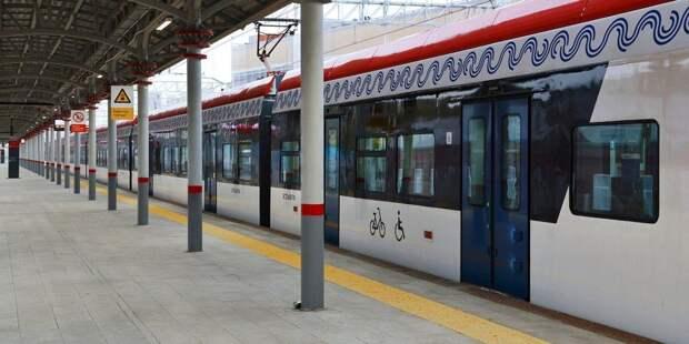График поездов МЦД-2 поменялся из-за укладки «бархатных» путей