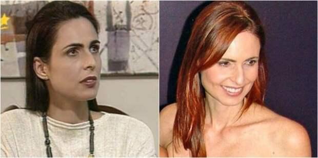 Бразильская актриса и топ-модель известна зрителям благодаря участию в сериале «Тропиканка», где исполнила роль томной красавицы Летисии.