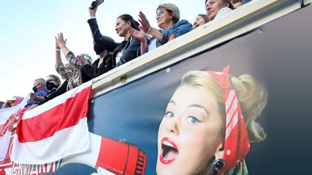 """Минский майдан организован изнутри: """"Жена блогера"""" в шаге от президентства"""