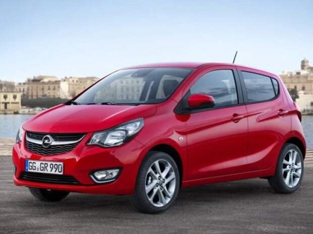 Opel показал новый бюджетный хэтчбек Karl