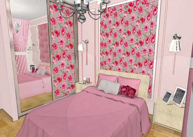 Спальня для любимой бабушки...