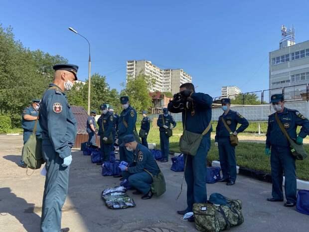 В Юго-востоке проверили боевую готовность сотрудников МЧС