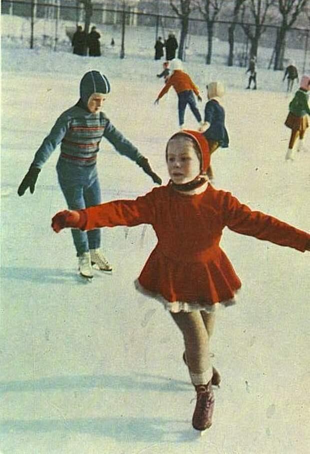 Будущая чемпионка. 1963 СССР, детство, фотографии