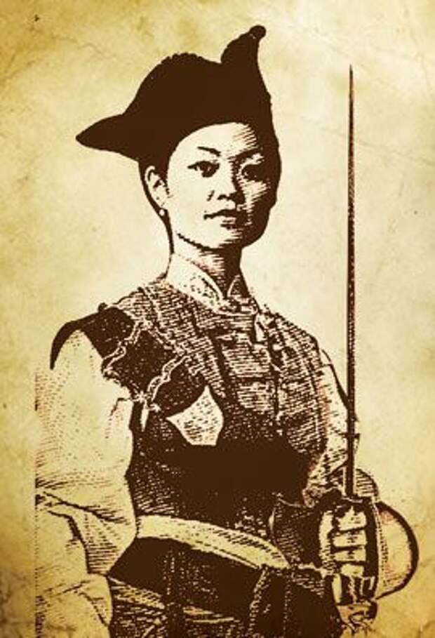 Бывшей обитательнице борделя удалось стать королевой пиратов.