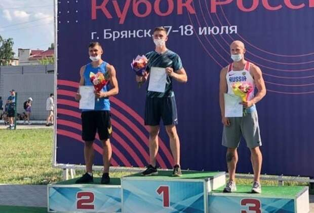 Крымский легкоатлет стал серебряным призёром Всероссийских соревнований