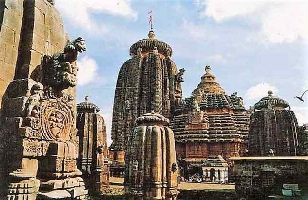 Бхубанешвар. Каменная резьба Лингараджа