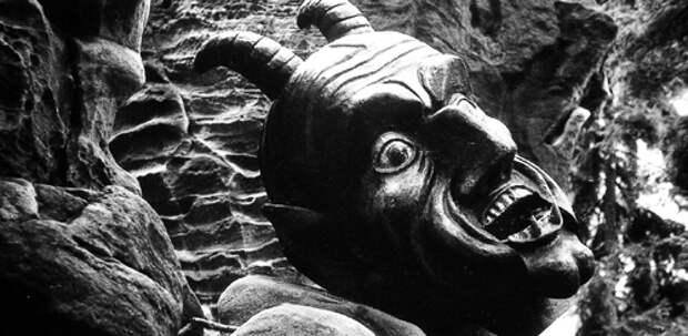 Кадр из фильма «Урок Фауста», реж. Я.Шванкмайер, 1994