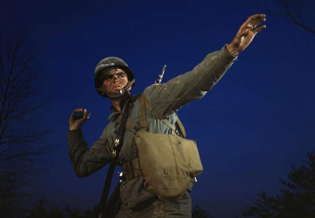 Вторая Мировая война в фото: американский тыл в цвете. Часть VIII