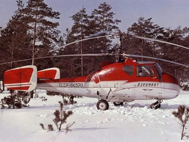 Ка-18: вертолет-труженик
