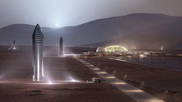 Илон Маск заявил, что отправит 1 млн человек на Марс к 2050 году. И пообещал найти им всем работу