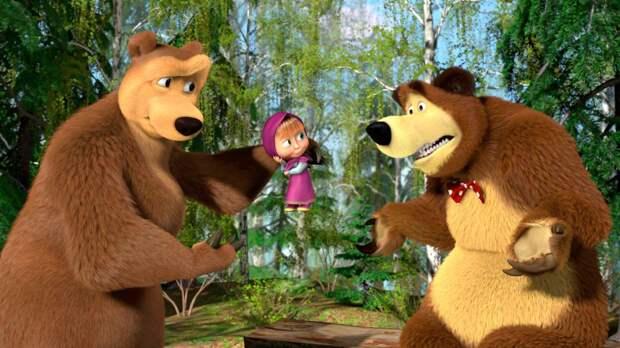 """Полнометражный мультфильм """"Маша и Медведь"""" выйдет в прокат к 2025 году"""