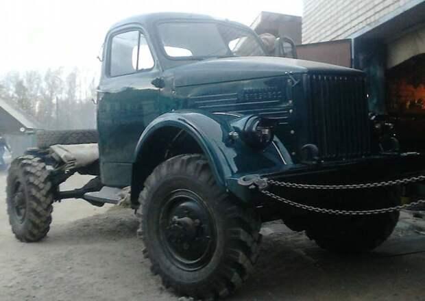 Реставрация ГАЗ-63