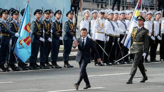 День Независимости Украины: пышный праздник на фоне руин страны