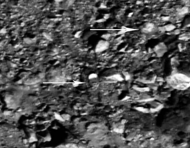 На Луне обнаружены развалины храмов и огромные статуи