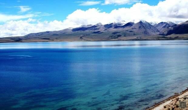 Кайлас и озеро Манасаровар