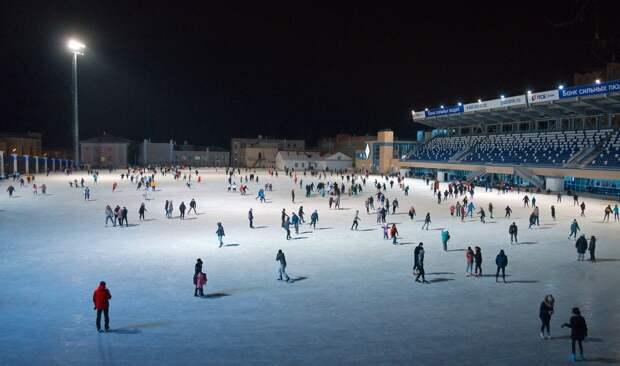 Каток на «Динамо» в Ижевске откроется в субботу