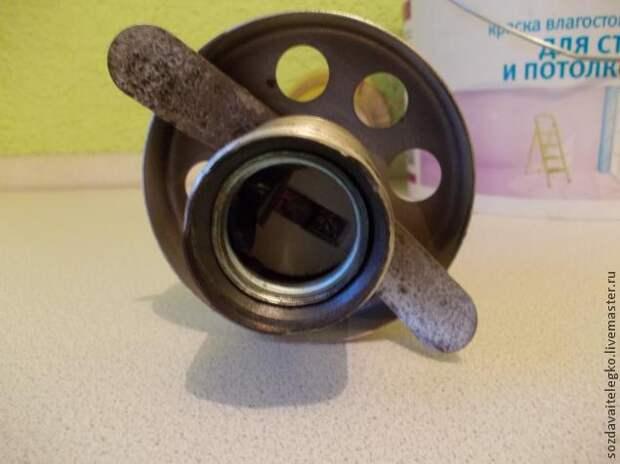 Процесс создания люстры для кухни
